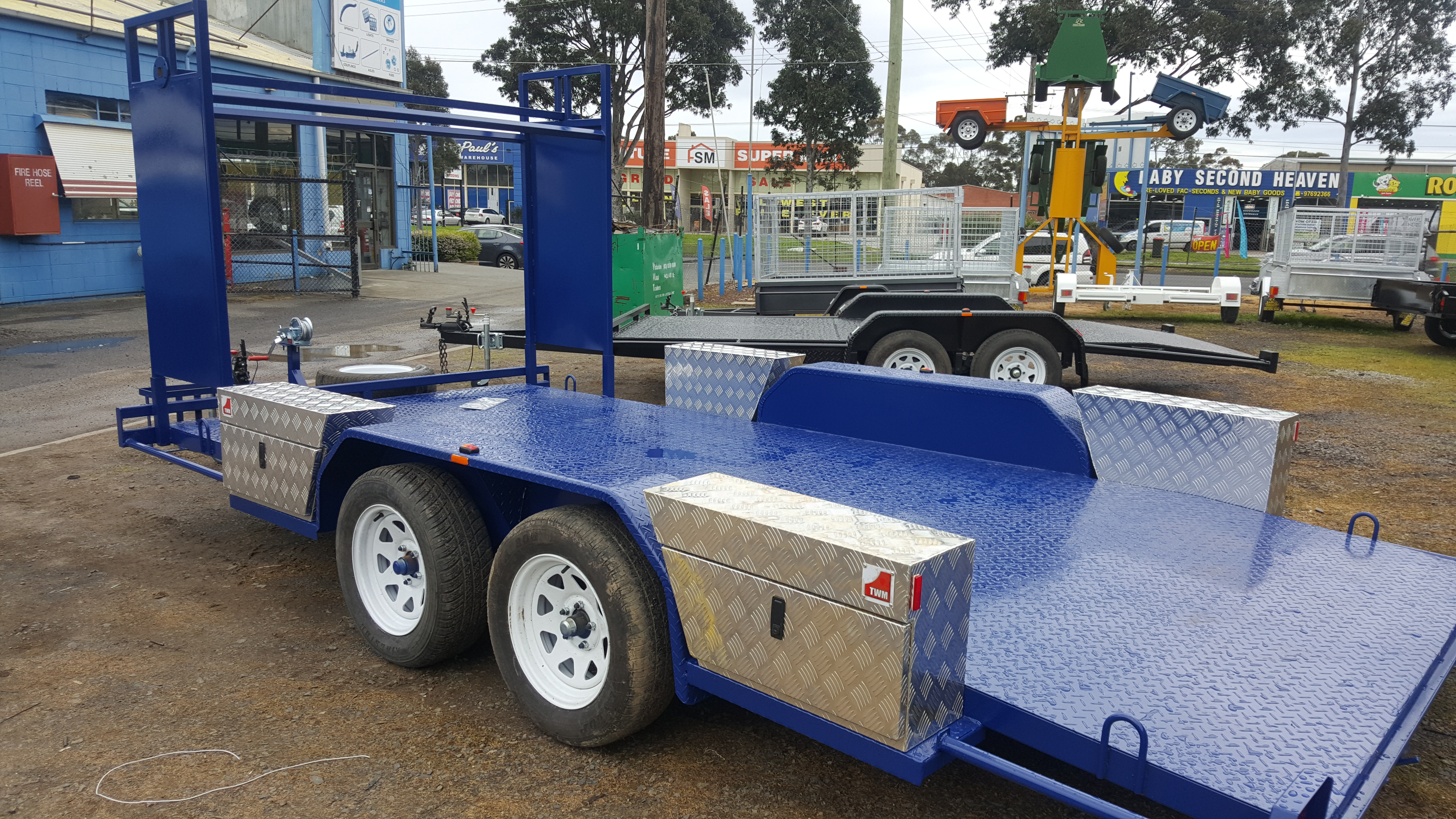 Car Carrier Trailers for Sale Melbourne VIC   Ramco Trailers