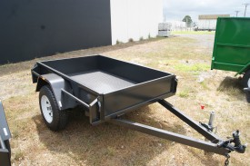 6x4 Box Trailer Heavy Duty with New Rims & Tyres