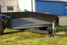 8x5 Box Trailer Heavy Duty with Checker Plate Floor