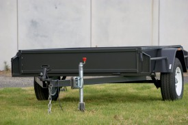 8x5 Box Trailer Heavy Duty with Checker Plate Floor with New Rims & Tyres