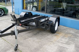 6x4 Bike Trailer with New Rims & Tyres