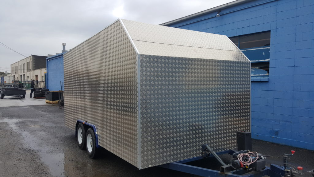 Enclosed Car Trailer 16x6'6