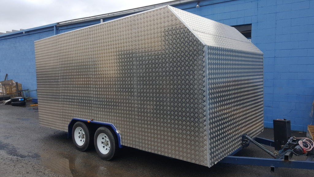 Car Carrier Trailer Enclosed